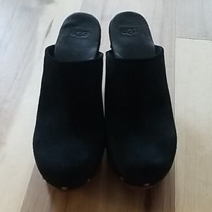 UGG Shoes - Ugg heels, suede